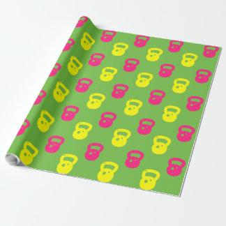 Papier Cadeau Papier d'emballage de Kettlebell -