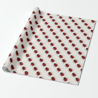 Papier Cadeau Papier d'emballage de Ladybird
