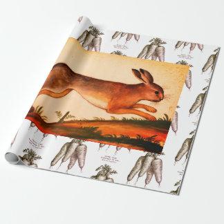 Papier Cadeau Papier d'emballage de LAPIN