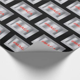 Papier Cadeau Papier d'emballage de #MAGA