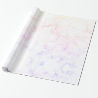Papier Cadeau Papier d'emballage de marbre de coucher du soleil,