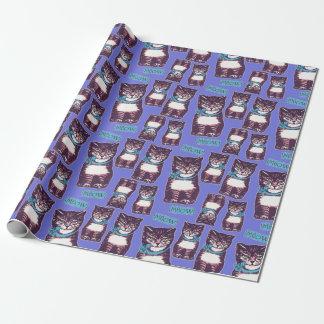 Papier Cadeau Papier d'emballage de Meowtown