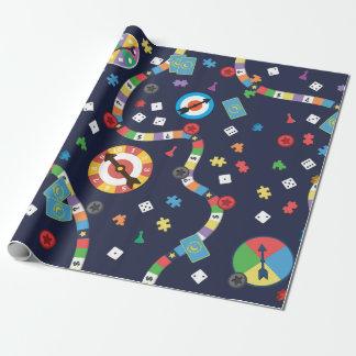 Papier Cadeau Papier d'emballage de motif coloré de jeu de