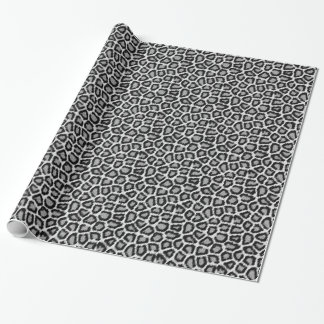 Papier Cadeau Papier d'emballage de motif de fourrure de léopard