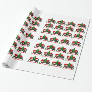Papier Cadeau Papier d'emballage de Noël de carlin