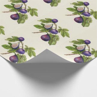 Papier Cadeau Papier d'emballage de Noël d'impression de figue -