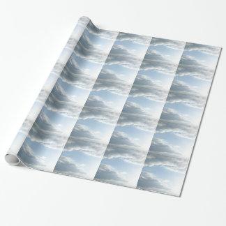 Papier Cadeau Papier d'emballage de nuages