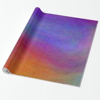 Papier Cadeau Papier d'emballage de nuages bleus de plasma