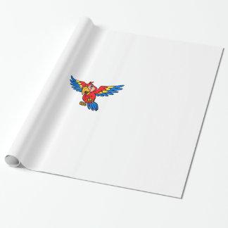 Papier Cadeau Papier d'emballage de perroquet