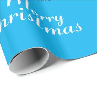 Papier Cadeau Papier d'emballage de petit pingouin mignon de