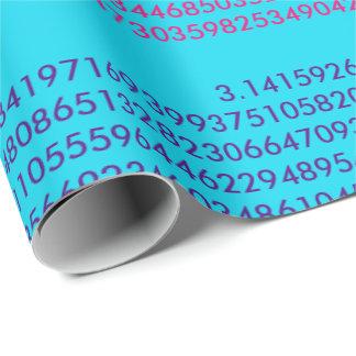 Papier Cadeau Papier d'emballage de pi