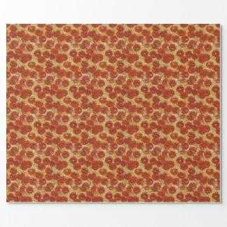 Papier Cadeau Papier d'emballage de pizza