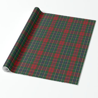 Papier Cadeau Papier d'emballage de plaid de tartan de MacLean