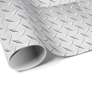 Papier Cadeau Papier d'emballage de plat de diamant