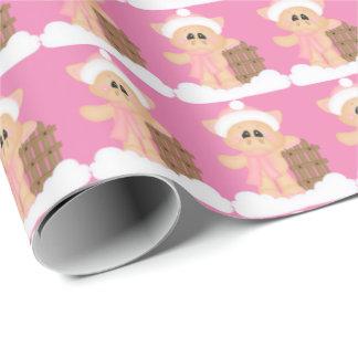 Papier Cadeau Papier d'emballage de porc d'équitation de