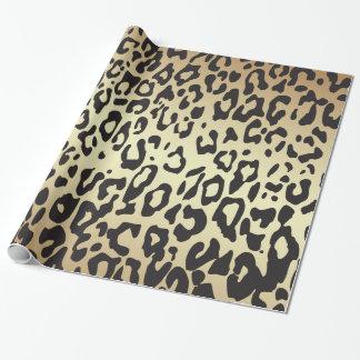 Papier Cadeau Papier d'emballage de poster de animal de guépard
