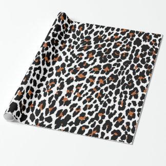 Papier Cadeau Papier d'emballage de poster de animal de Jaguar