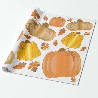 Papier Cadeau Papier d'emballage de récolte de chute