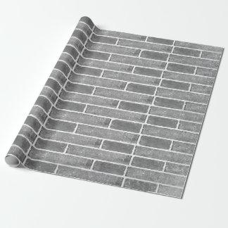 Papier Cadeau Papier d'emballage de texture grise de mur de