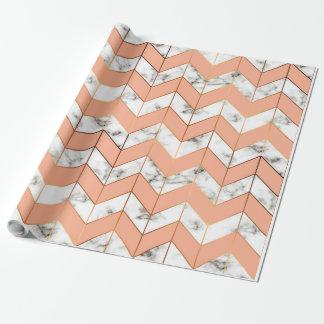 Papier Cadeau Papier d'emballage de textures de marbre