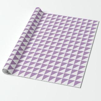 Papier Cadeau Papier d'emballage de triangles modernes de