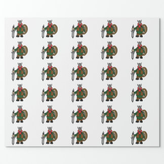 Papier Cadeau Papier d'emballage de Viking