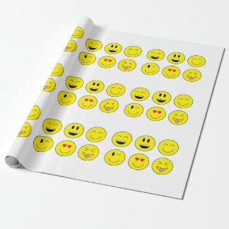 Papier Cadeau Papier d'emballage d'Emoji