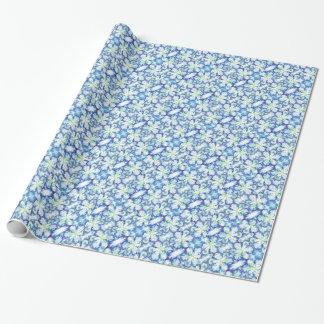 Papier Cadeau Papier d'emballage d'impression d'iris