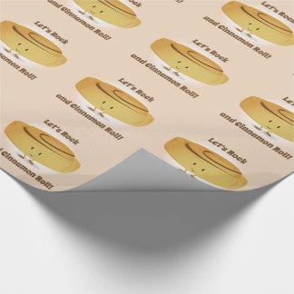 Papier Cadeau Papier d'emballage du caractère | de petit pain de