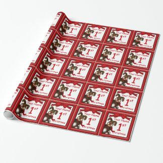 Papier Cadeau Papier d'emballage fait sur commande Noël mignon