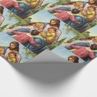 Papier Cadeau Papier d'emballage Jésus
