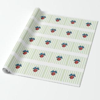 Papier Cadeau Papier d'emballage mat de l'ornement 30x30 de