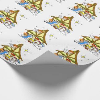 Papier Cadeau Papier d'emballage/nativité