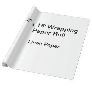 Papier Cadeau Papier d'emballage (petit pain 2x15, papier de