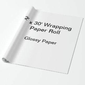Papier Cadeau Papier d'emballage (petit pain 2x30, papier