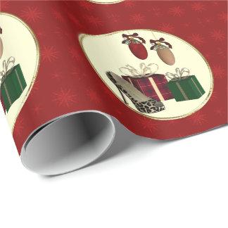 Papier Cadeau Papier d'emballage stylet de cadeaux de léopard