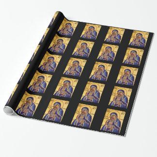 Papier Cadeau Papier Jésus et Mary d'emballage cadeau de mère et