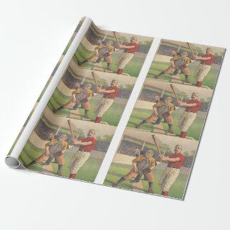Papier Cadeau Passe-temps SUPÉRIEUR de base-ball