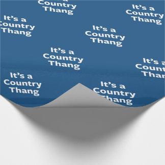 Papier Cadeau Pays Thang