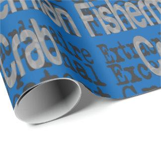 Papier Cadeau Pêcheur de crabe Extraordinaire