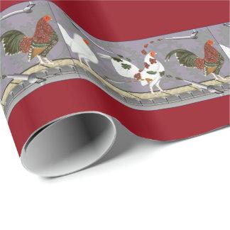 Papier Cadeau Peintre de volaille