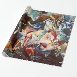 Papier Cadeau Peinture de toile d'art abstrait de Kandinsky
