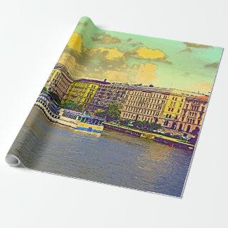 Papier Cadeau Peinture hongroise du Parlement