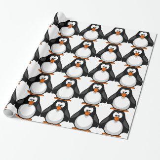 Papier Cadeau penguin - pingouin