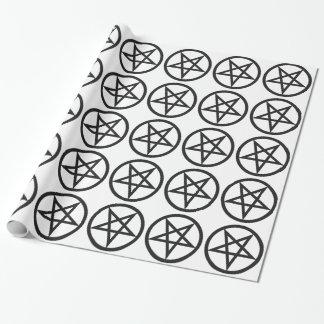 Papier Cadeau Pentagone étoilé audacieux