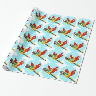 Papier Cadeau perroquet