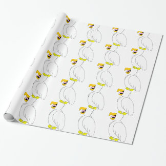 Papier Cadeau perroquet #3