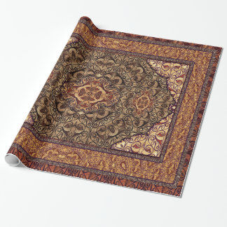 Papier Cadeau Persan oriental Brown
