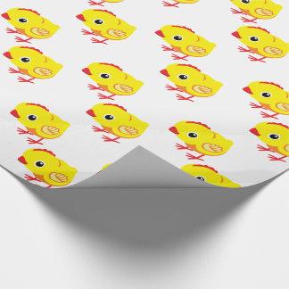 Papier Cadeau petit poulet