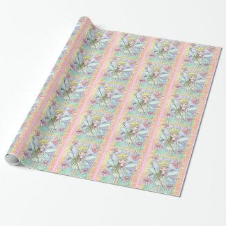 Papier Cadeau Petite enveloppe féerique de princesse cadeau
